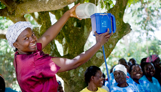 SWD-Projekt: Wasserfilter für Kenia