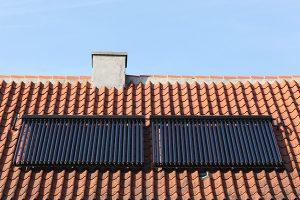Solarthermie auf Dach