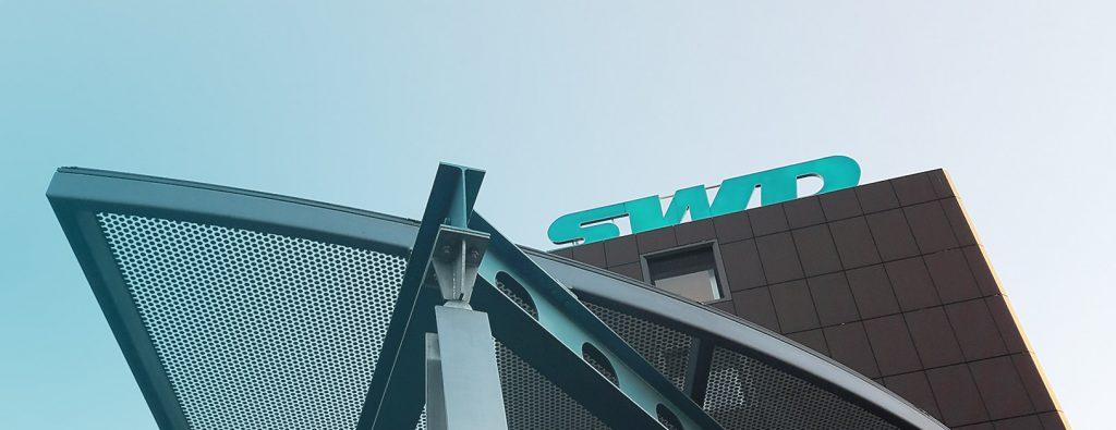 Ausschnitt des SWD Hauptgebäudes