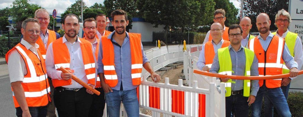 Das Speednet-Team der SWD, Leitungspartner und Net Aachen